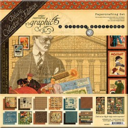 Set Graphic 45 Deluxe A Proper Gentleman (30x30)