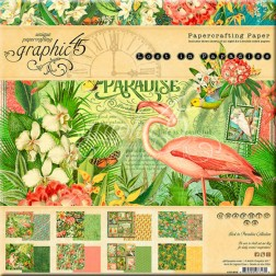 Papeles Scrapbooking Lost In Paradise (20x20)