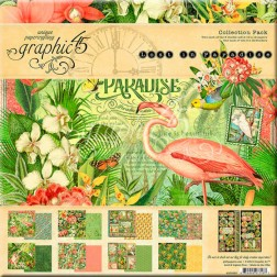 Papeles Scrapbooking Lost In Paradise (30x30)