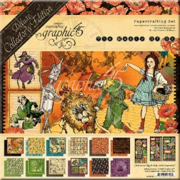 Set Graphic 45 Deluxe The Magic of Oz (30x30)