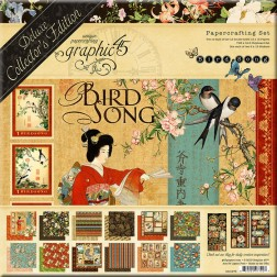 Set Graphic 45 Deluxe Bird Song (30x30)