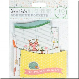 Adhesivos Pockets Forest Friends - Grace Taylor