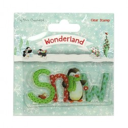Sello Snow Wonderland