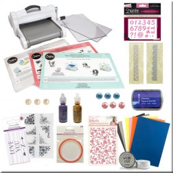Nuevo Kit Big Shot Plus White & Gray (A4) abedulart Regalo Ideal