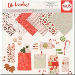 Papel Cristal Classic Christmas