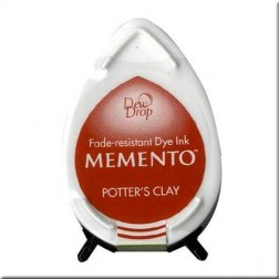 Tinta Memento Dew Drop Potter's Clay