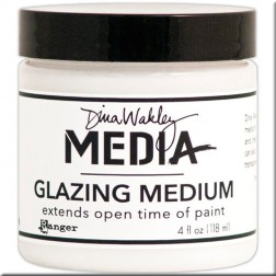 Glazing Medium Dina Wakley (118 ml) (cristalizado)