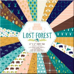 Papeles Scrapbooking Lost Forest (30x30)