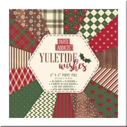 Papeles Scrapbooking Yuletide Wishes (15x15)