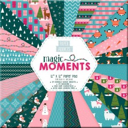Papeles Scrapbooking Magic Moments (30x30)