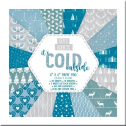 Papeles Scrapbooking It's Cold Outside (15x15)