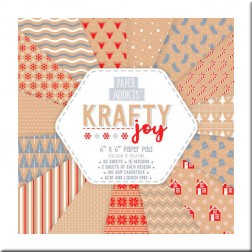 Papeles Scrapbooking Krafty Joy (15x15)
