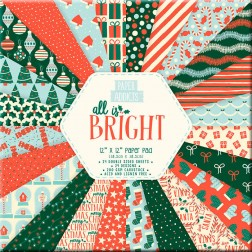 Papeles Scrapbooking All Is Bright (30x30)