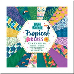 Papeles Scrapbooking Tropical Bliss (10x10)