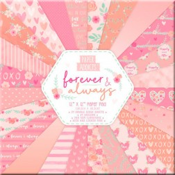 Papeles Scrapbooking Forever & Always (30x30)