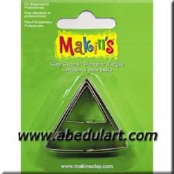 Set 3 cortadores Triangulares para Fimo, Sculpey (Makin's)