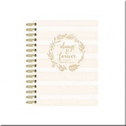 Paper House Planner de Espiral Always & Forever Wedding