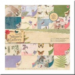 Papeles Scrapbooking - Nature's Gallery (30x30)