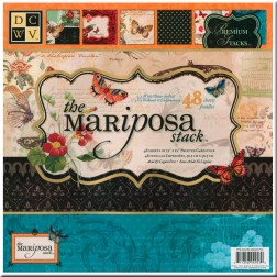 Papeles Scrapbooking The Mariposa (30x30)