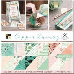 Papeles Scrapbooking Copper Luxury (30x30)