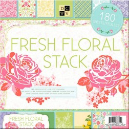 Papeles Scrapbooking Fresh Floral Stack (30x30)