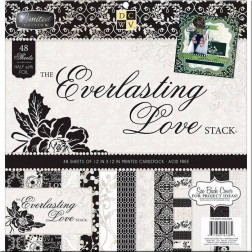 Papeles Scrap The Everlasting Love Stack (30x30)