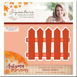 Troquel Picket Fence Autumn Morning