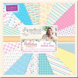 Papeles Scrapbooking Birthday Party (15x15)