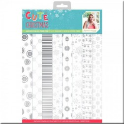 Papeles Luxury Foiled Cute Christmas (A4)