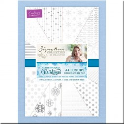 Papeles Scrapbooking Contemporary Christmas (A4)