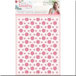 Carpeta Embossing Delicate Petals English Country Garden