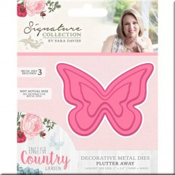 Troqueles Flutter Away English Country Garden