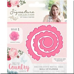 Troquel Roll Up Flower English Country Garden