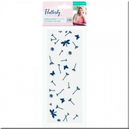 Carpeta Embossing Scattered in the Wind Flutterby