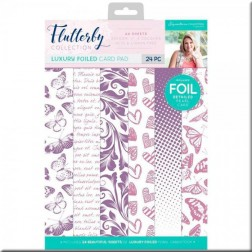 Papeles Luxury Foiled Flutterby (A4)