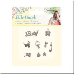 Charms Luxury Metal Little Angel