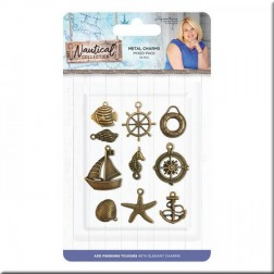 Metal Charms Nautical