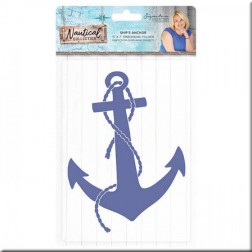 Carpeta Embossing Ship's Anchor Nautical
