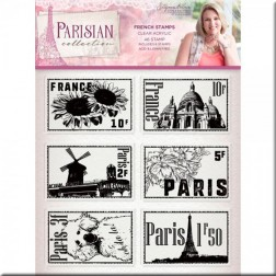 Sellos French Stamps Parisian (A6)