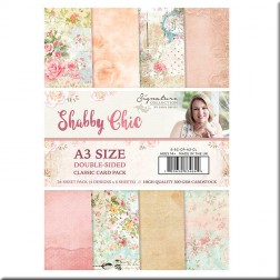 Papeles Scrapbooking Classic Shabby Chic (A3)