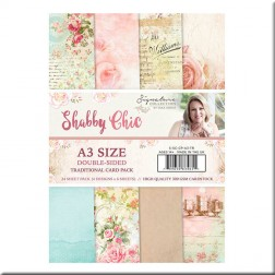 Papeles Scrapbooking Traditional Shabby Chic (A3)