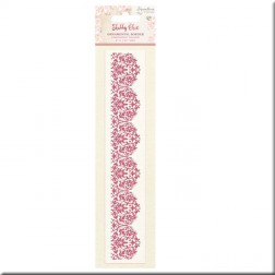 Carpeta Embossing Ornamental Border Shabby Chic