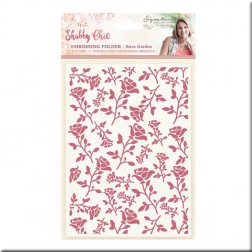 Carpeta Embossing Rose Garden Shabby Chic