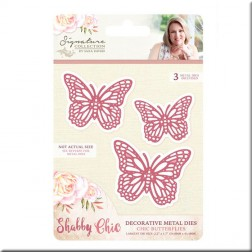 Troqueles Chic Butterflies Shabby Chic