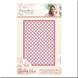 Troquel Rustic Lattice Shabby Chic