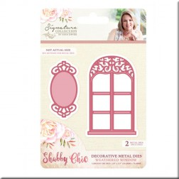 Troqueles Weathered Window Shabby Chic