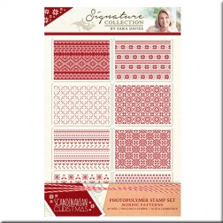 Sellos Nordic Patterns Scandinavian Christmas