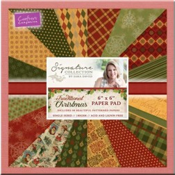 Papeles Scrapbooking Traditional Christmas (15x15)