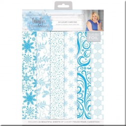 Papeles Scrap Winter Wonderland de Sara Davies (A4)
