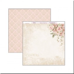 Papel Scrap Dayka Compromiso Flores